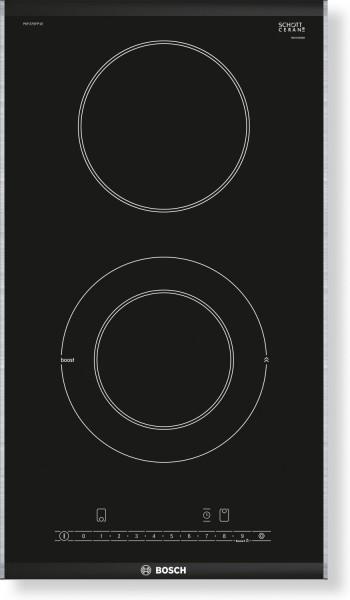 Bosch PKF375FP1E, Serie | 6 Domino-Kochfeld, Elektro30 cm, Schwarz, autark, Erkelenz