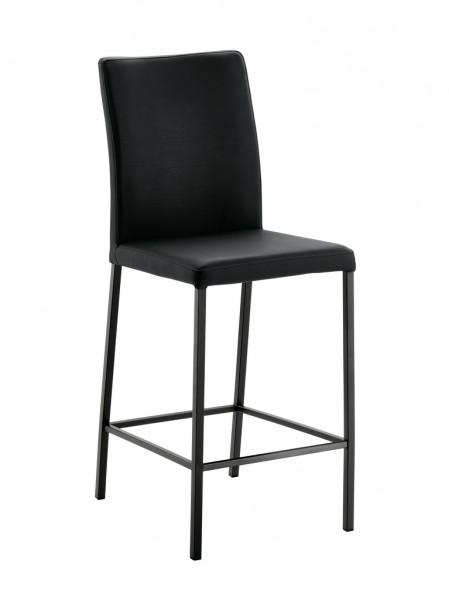 Naber 3038410 Borsa 2L, Gestell schwarz, Bezug schwarz, Erkelenz