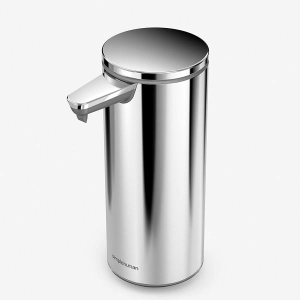 Simplehuman Sensorspender Seifenspender polierter Edelstahl 266 ml, Erkelenz