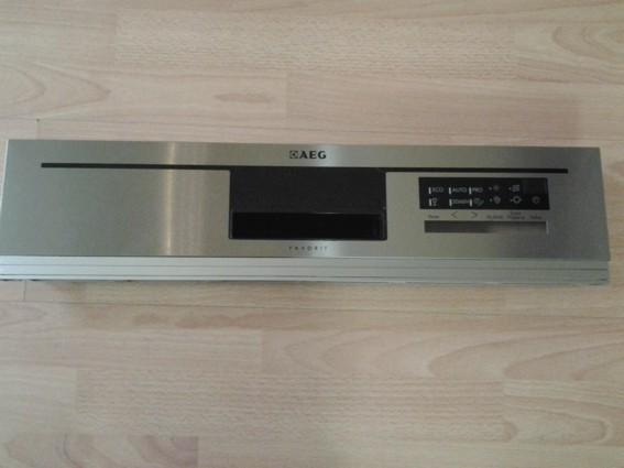 AEG F56602IMOP, Bedienblende Inox