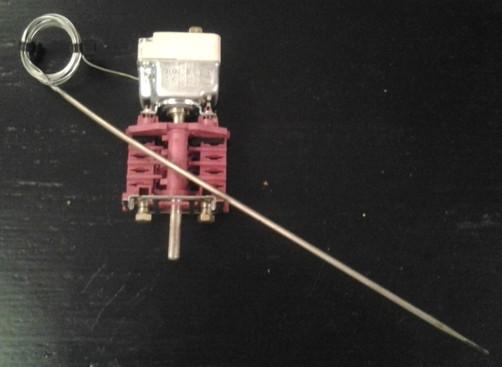 Miele H812 B, Regelthermostat 150 Grad, mit Vorsatzschalter, EGO 55.10062.010