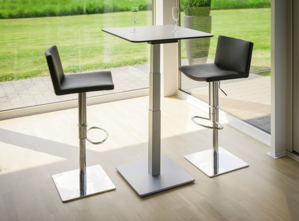 Naber 3033001, Tischgestell Gliera EHV 1, inkl. Bodenplatte 550 x 650 mm, Tisch, Gestell, Untergestell, Erkelenz