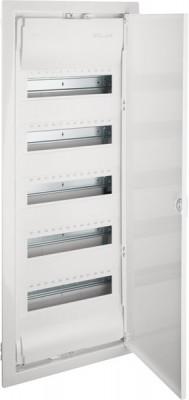 Hager VU60NC Kleinverteiler Unterputz 5x12TE Kunststoff IP30 inkl. Tür