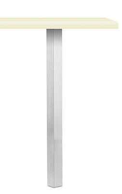 Naber 3013035, Kreta Vierkantfuß, Edelstahl, H 700 mm, Erkelenz