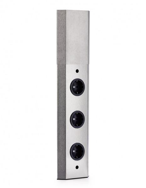 Naber, 7053005, Mira Wand 2, 2fach, mit Schalter für externe Beleuchtung, Erkelenz