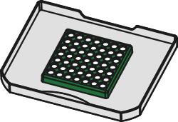 Naber 8011312, Bio-Deckel , hellgrau, für 4/ 6/ 7/ 10/ 12,5 Liter. Erkelenz