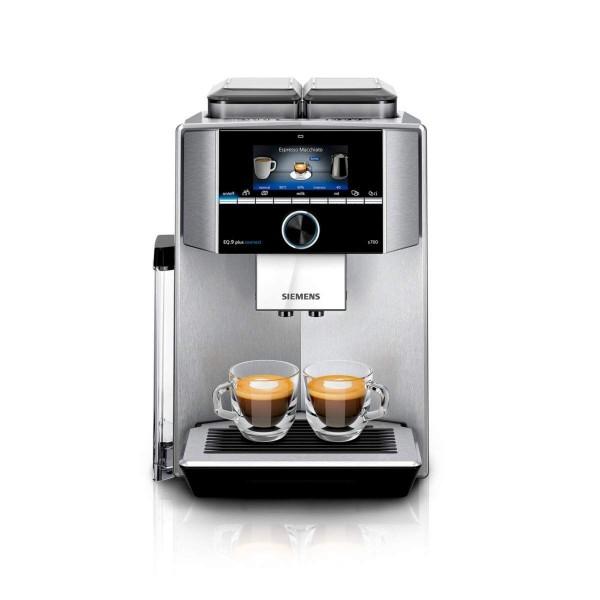 Siemens TI9575X1DE EQ.9 plus connect s700, Kaffeevollautomat, 19 bar, 1500 W, edelstahl, Erkelenz