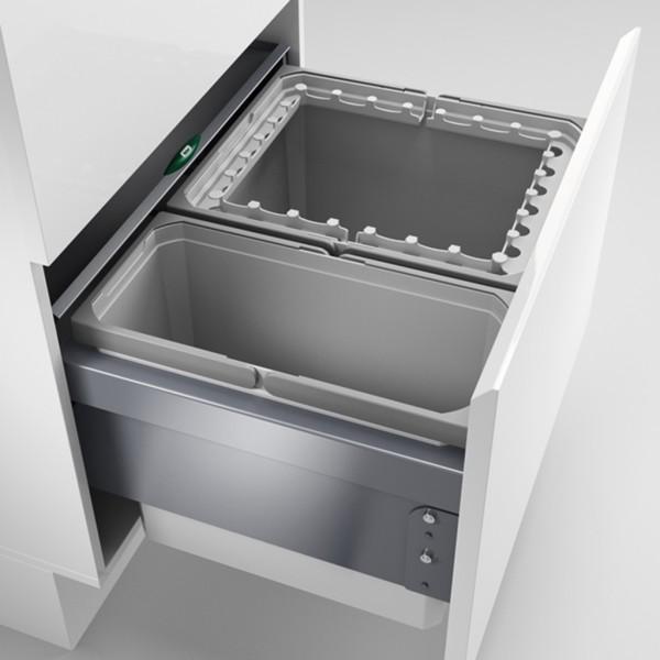 Naber, 8012406, Cox® Base 360 R/600-2, hellgrau, H 360 mm, Erkelenz