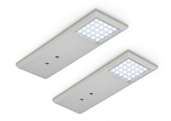 Naber, 7061171, Intorno L, Farbwechsel, LED, Set-2, mit LED, Touch, Schalter, Erkelenz