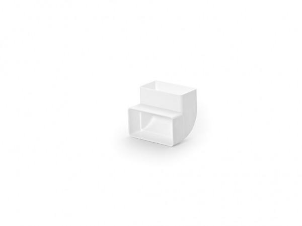 Naber, 4011012, N-RBV 100 Rohrbogen vertikal 90°, weiß, Erkelenz