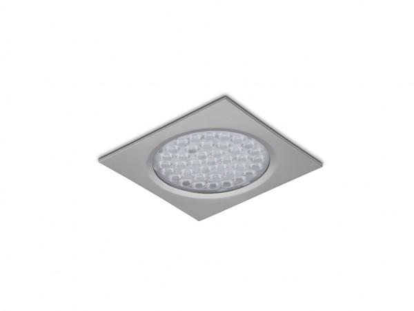 Naber 7061232, Nova Eco E,LED,Einzelleuchte ohne Schalter,eckig,einbau,edelstahlfarbig,Erkelenz