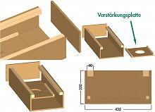 Naber, 4041011, COMPAIR, Abluftverkleidung, Insellösung, Dunstabzugshaube, Erkelenz
