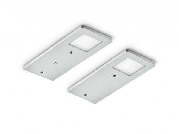 Naber, 7061262, Menta, Set-2, LED mit LED Touch Schalter u. Dimmer, Unterbauleuchte, Erkelenz
