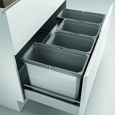 Naber, 8012422, Cox® Box 350 S/900-4, mit Biodeckel, hellgrau, Erkelenz