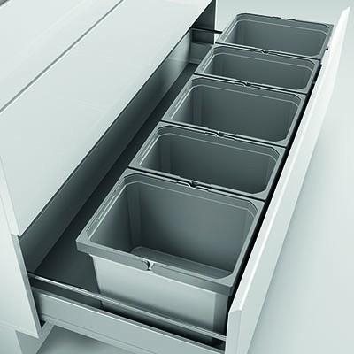 Naber, 8012460, Cox® Box 235 K/1200-5, ohne Biodeckel, hellgrau. Erkelenz