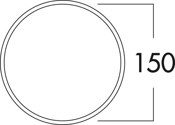 Naber 4043049, E-Jal Col® 150 Außenjalousie, Edelstahl, Ø 150 a mm, Erkelenz
