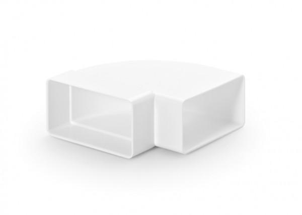 Naber, 4011011, N-RBH 100 Rohrbogen horizontal 90°, weiß, Erkelenz