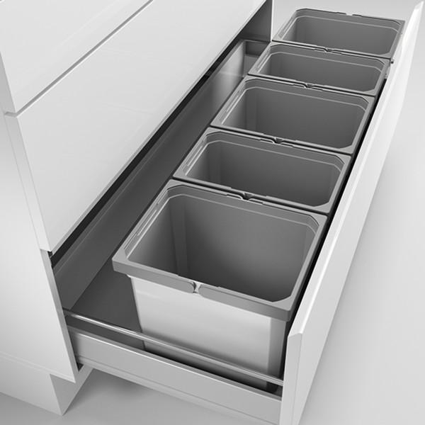Naber, 8012484, Cox® Box 275 K/1200-5, ohne Biodeckel, hellgrau, Erkelenz