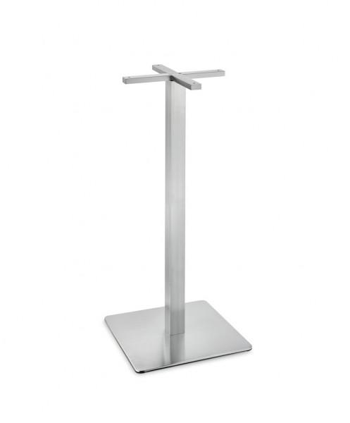Naber 3033193, Gliera S/E,Tischgestell, eckig,Gestell für Stehtisch,Tischplatte 800x800mm, Höhe 1080mmErkelenz