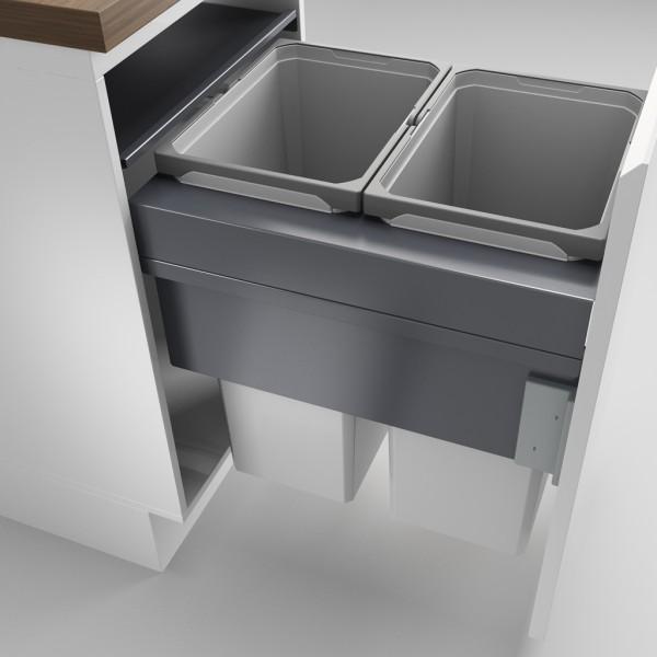 Naber, 8012389, Cox Clan® 580/500-2, hellgrau, H 580 mm, Erkelenz