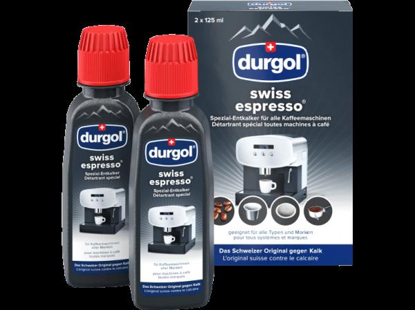 DURGOL 2 x 125 ml swiss espresso Entkalker, Erkelenz