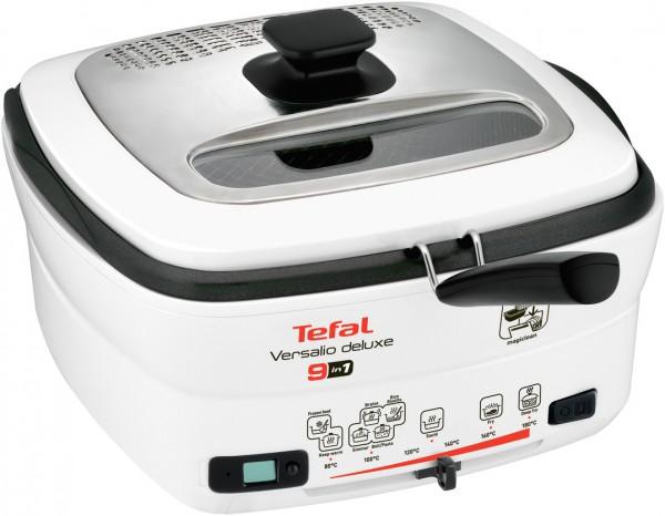 Tefal Versalio De Luxe 9 in 1 FR4950 Fritteuse Multi-Cooker 1600W weiß/schwarz, Erkelenz