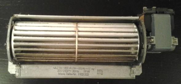 Miele H812 B, Lüfter 19Watt, T.-Nr.1922320