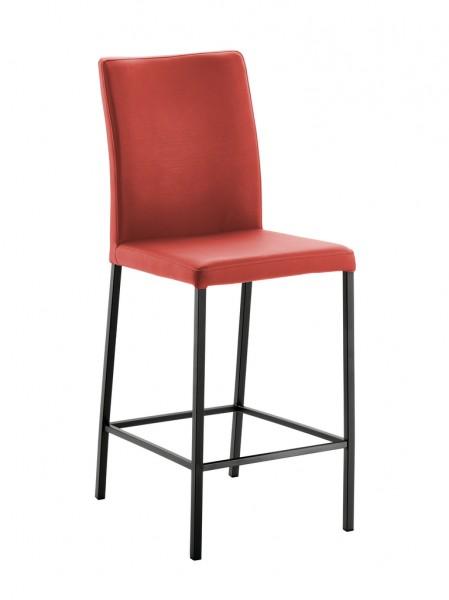 Naber 3038414 Borsa 2L, Gestell schwarz, Bezug rot, Erkelenz