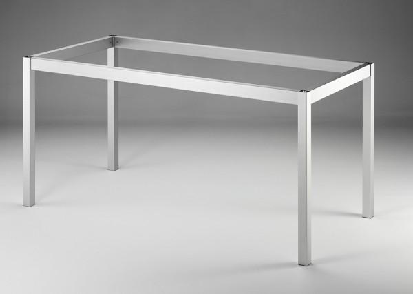 Naber, 3032039, Tischgestell 40, edelstahlfarbig gebürstet, B 710 mm. Erkelenz