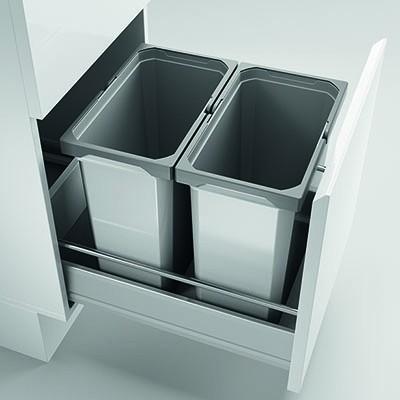Naber, 8012409, Cox® Box 360 S/400-2, mit Biodeckel, hellgrau, Erkelenz
