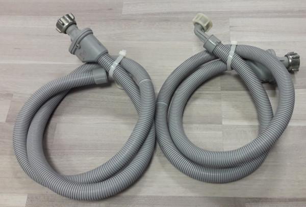 Bauknecht, WAB1200, 2 X Zulaufschlauch, Warmwasser, Kaltwasser, gebraucht, Erkelenz