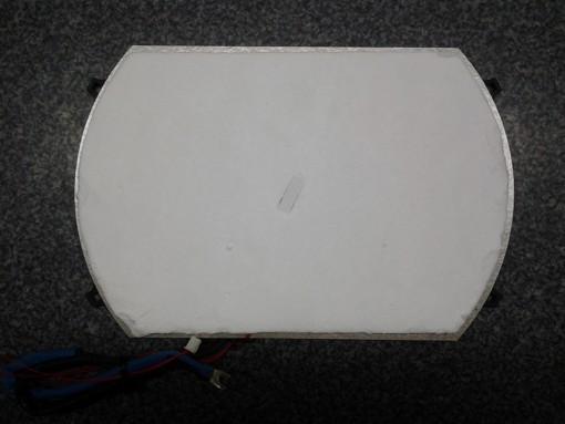 Miele KM5955 EDST/D Spule-Platte 180mm hinten/rechts T.-Nr.: 8242091