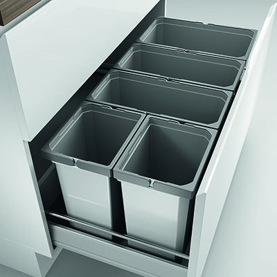 Naber, 8012425, Cox® Box 350 S/1000-5, mit Biodeckel, hellgrau, Erkelenz