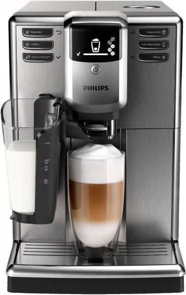 Philips EP5335/10 Latte Go Kaffeevollautomat, Edelstahl/Schwarz, Erkelenz