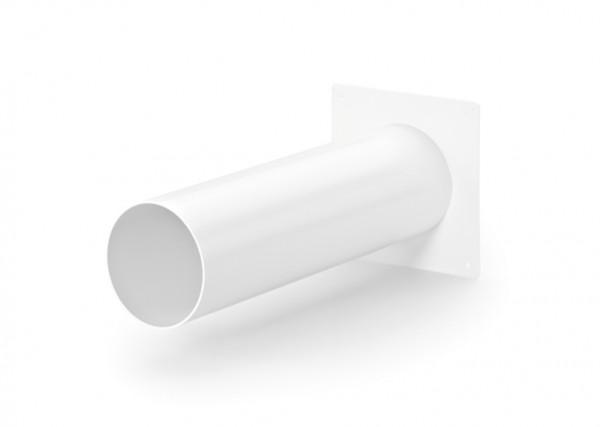 Naber, 4010500, System 100 Maueranschlussstutzen 1, weiß, Erkelenz