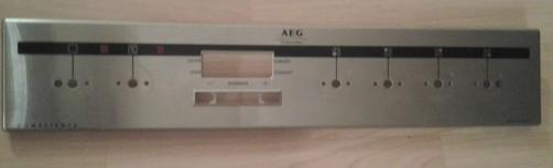 AEG E31002-4-M Schalterblende, Edelstahl