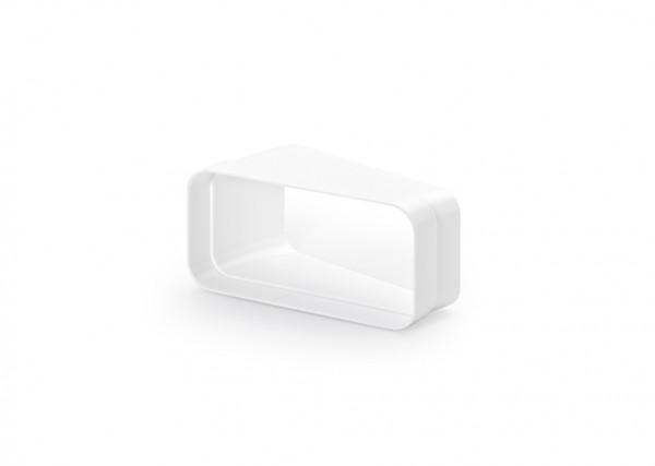 Naber, 4033012, MF-RBH 125 Rohrbogen horizontal 15°, weiß, Erkelenz