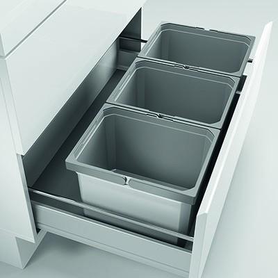 Naber, 8012453, Cox® Box 235 K/800-3, mit Biodeckel, hellgrau, Erkelenz