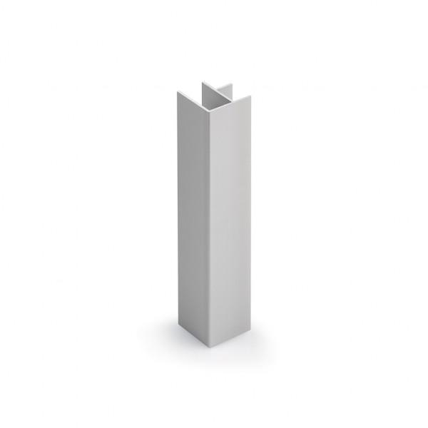Naber, 4041019, Sockel-Eckblenden, für H 100 mm, Einbauküche, Sockelleiste, Sockel, Eckverbinder, Erkelenz