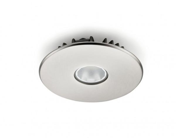 Naber 7061333, Riflettore,Farbwechsel,LED,Einzelleuchte ohne Schalter,Einbau,Edelstahl,Erkelenz