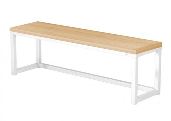 Naber, 3032088, Sitzfläche, Echtholz, für Bankgestell B110, Echtholz, Buche, lackiert, Erkelenz